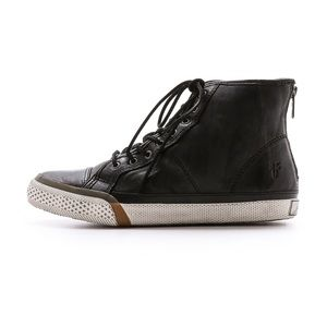 Shoes - Frye Greene Shearling Lined Hi top Sneaker